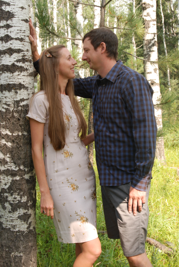 Tecie and Justin Newman Engagement Photo