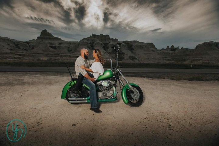 Shantel and Clay Royer Engagement Photo