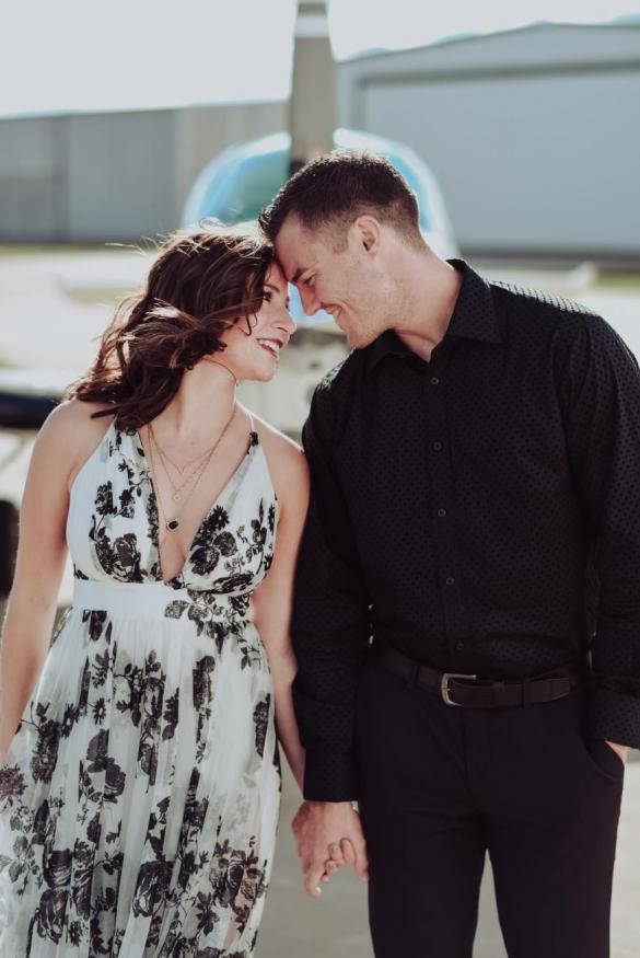 Hailey & Kody Derosier Engagement Photo