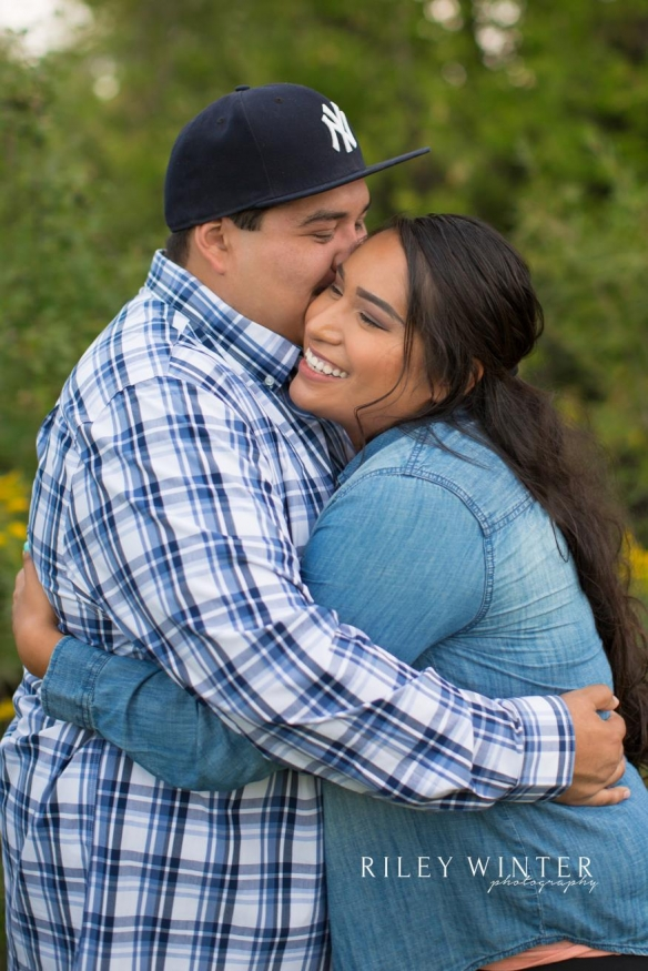 Crystal and David LaDeaux Engagement Photo