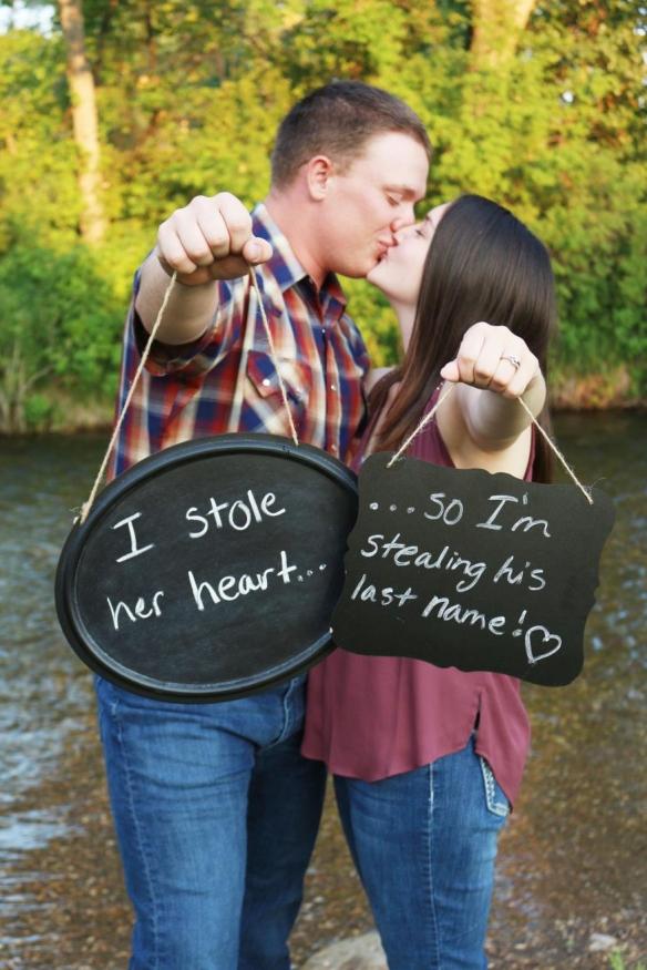 Cherise and John Evans Engagement Photo