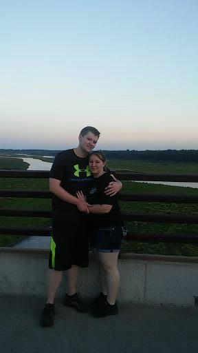 Amber and Jake LeLaCheur Engagement Photo