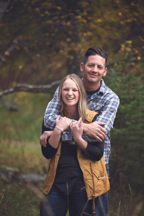 Gretchen and Matthew Emrich Engagement Photo