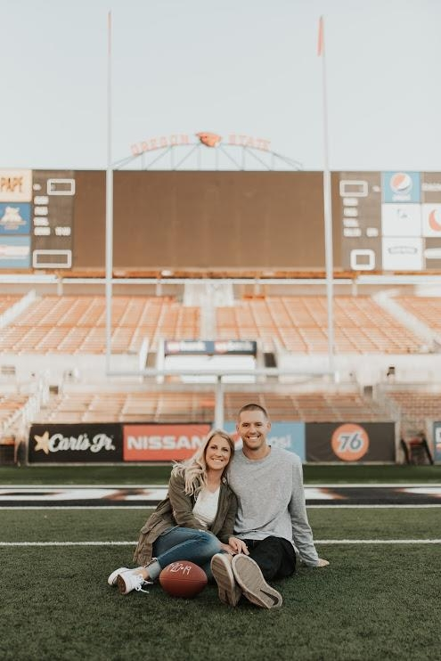 Katy & Austin Brown Engagement Photo