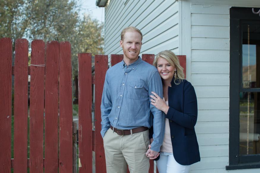 Tia and Dan Berens Engagement Photo