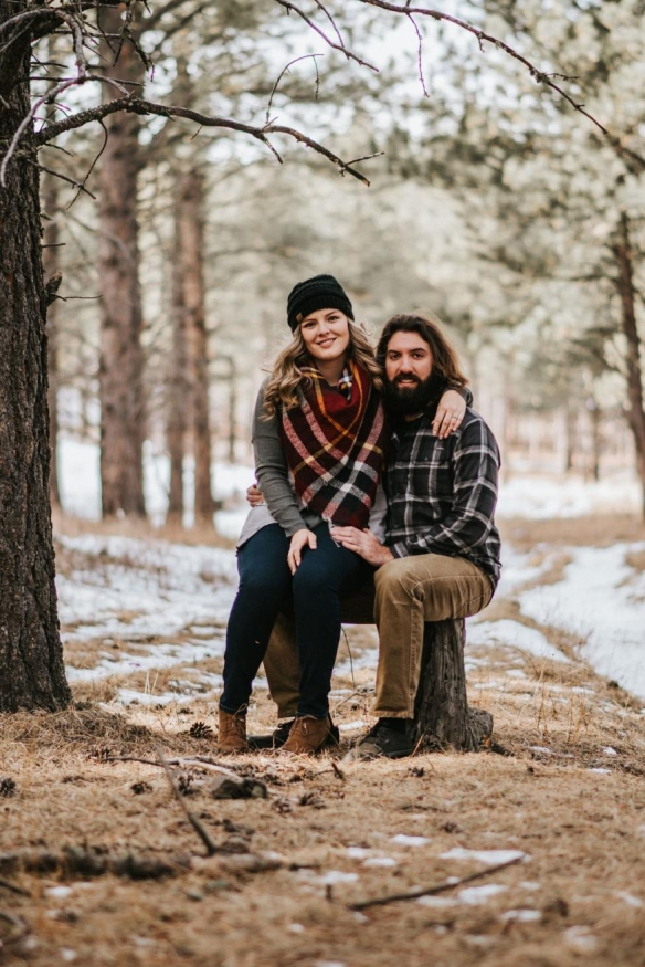 Ashley and Garrett Rowles Engagement Photo