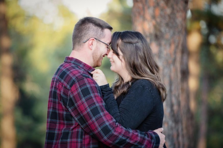 Brooke Braswell and Brent Moe Engagement Photo