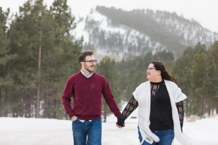 Tasha and Coltan Mack Engagement Photo