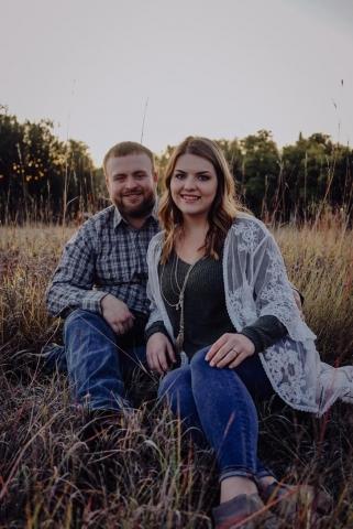 Lexi and Blake Burtzlaff Engagement Photo