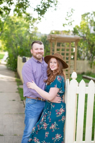 Rebecca and Patrick Hurley Engagement Photo