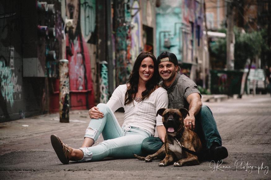 Kayla and Phil Rivera Engagement Photo