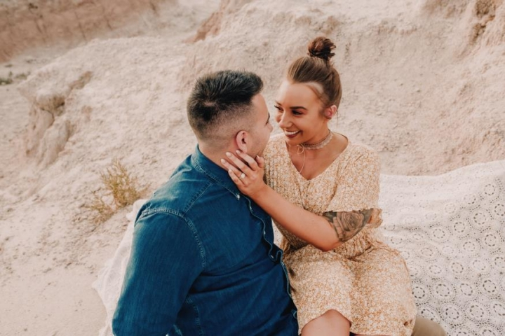 Jordan and Tyler Colombo Engagement Photo