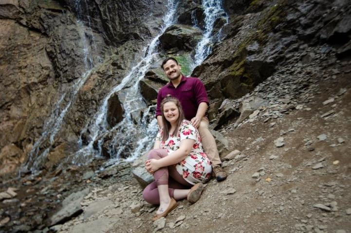 Shelby Bauer and Joseph Serrano Engagement Photo