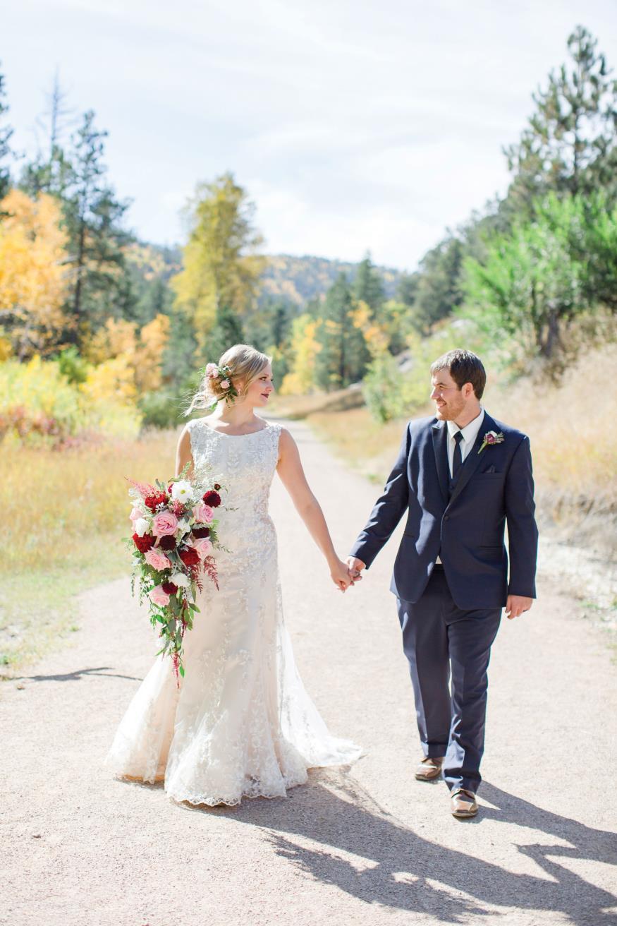Shayla and Tallen Tetrault Wedding Photo