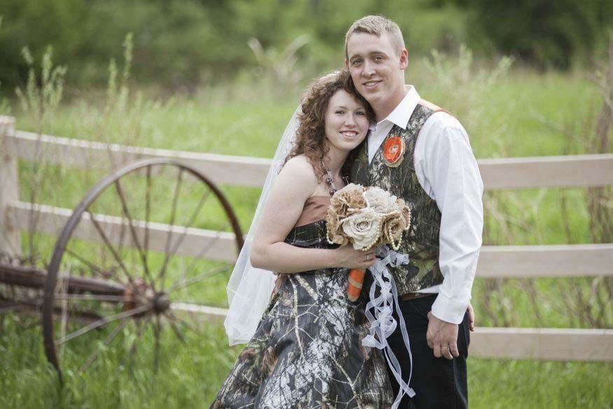 Monique and Bryan Dock Wedding Photo
