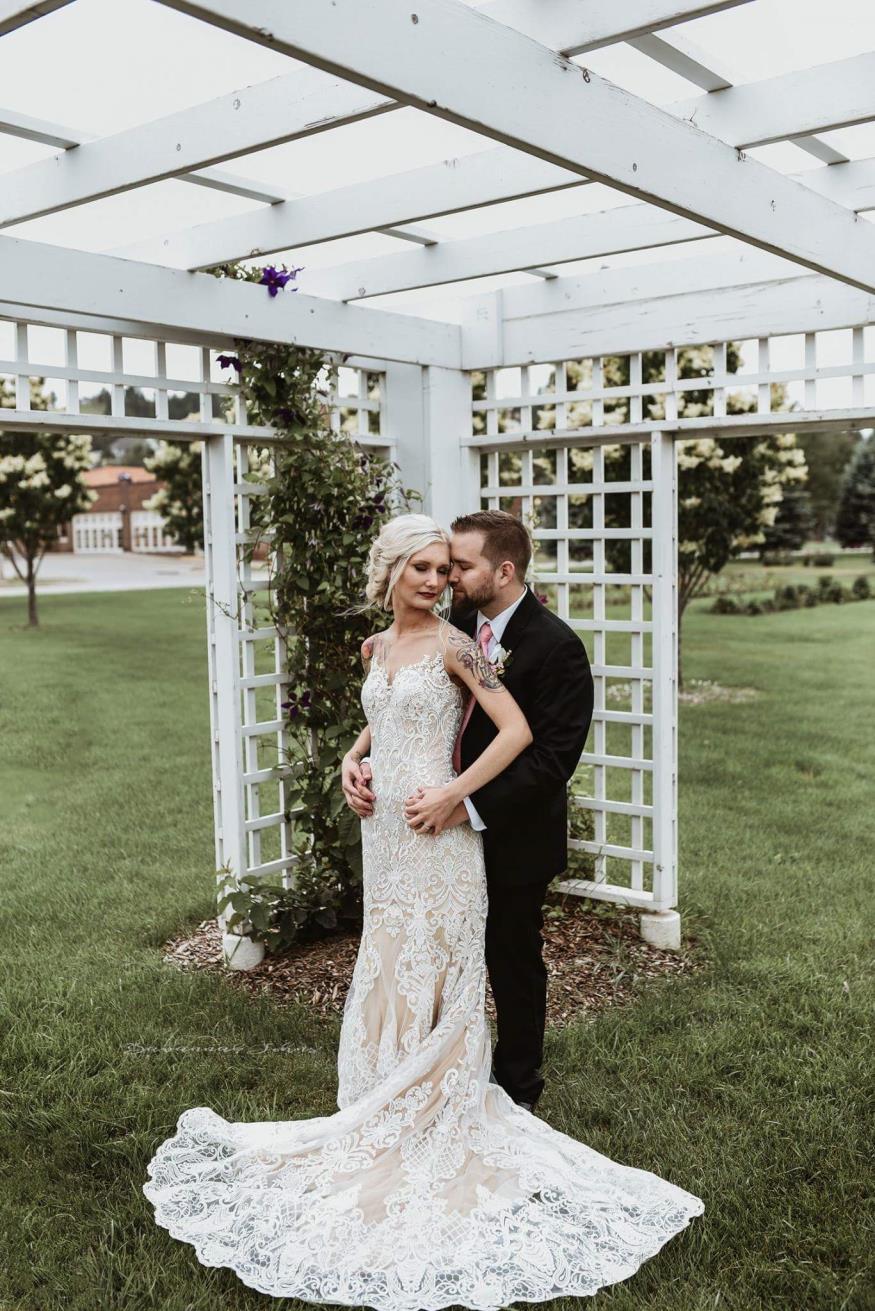 Michelle and Jason Wetsch Wedding Photo