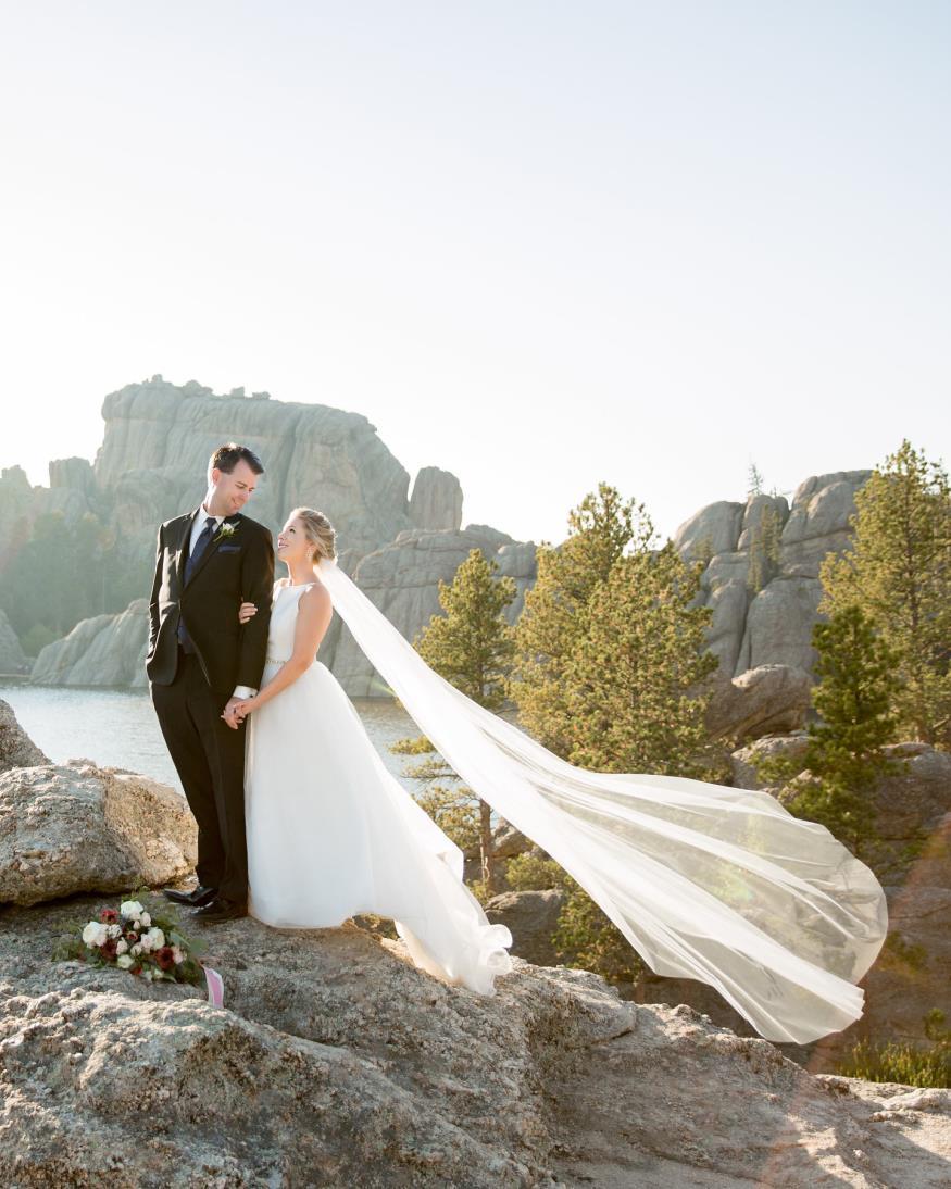 Marcy and David Capesius Wedding Photo