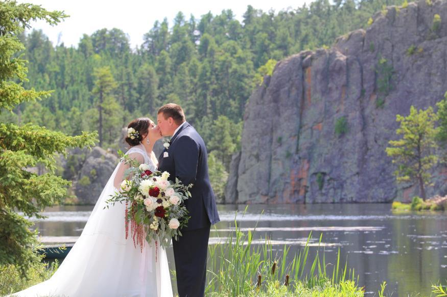 Lindsey and Anthony Poeppel Wedding Photo