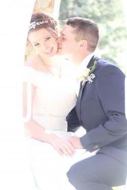 Kendra and Robert Brooks Wedding Photo