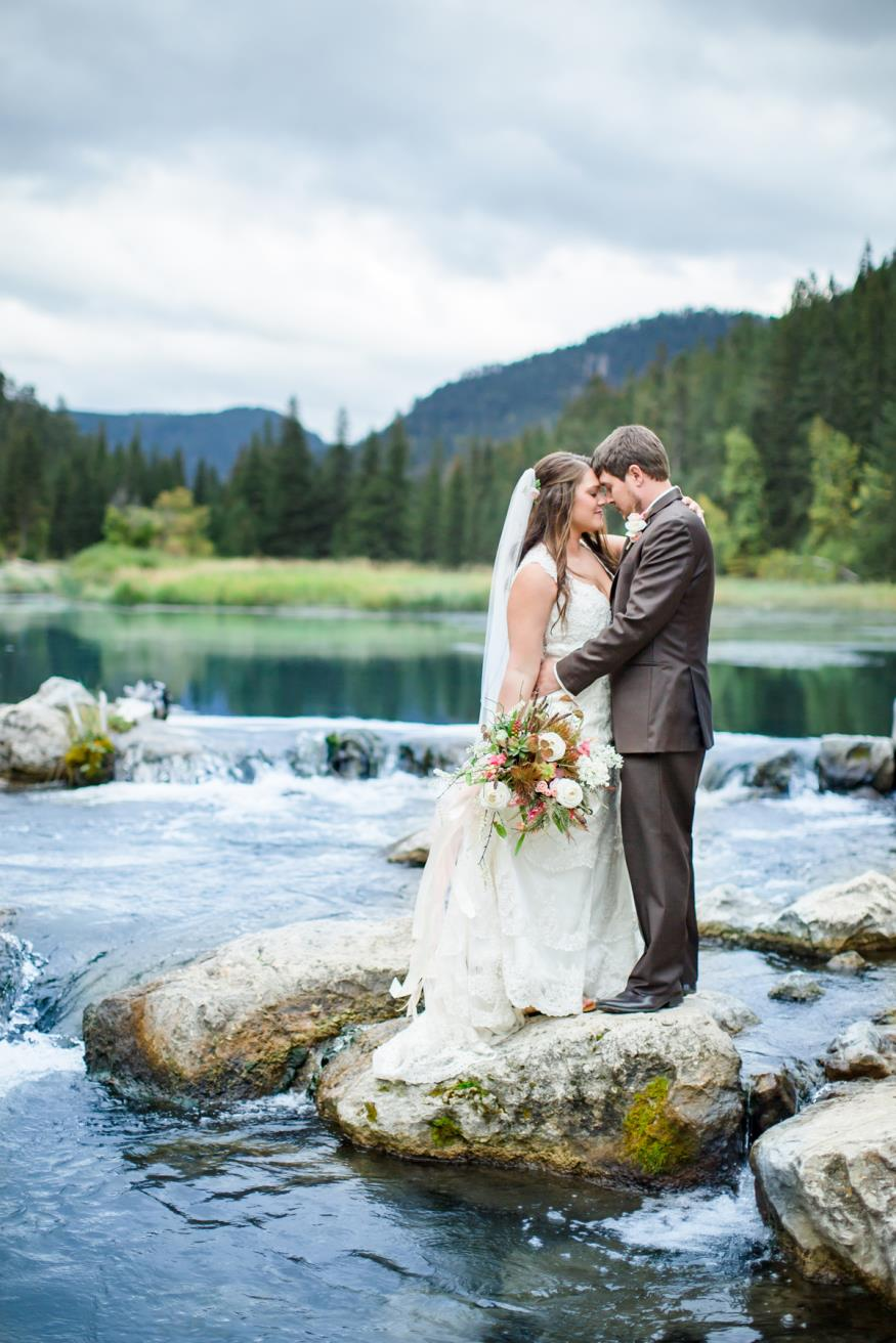 Kary and Justin King Wedding Photo