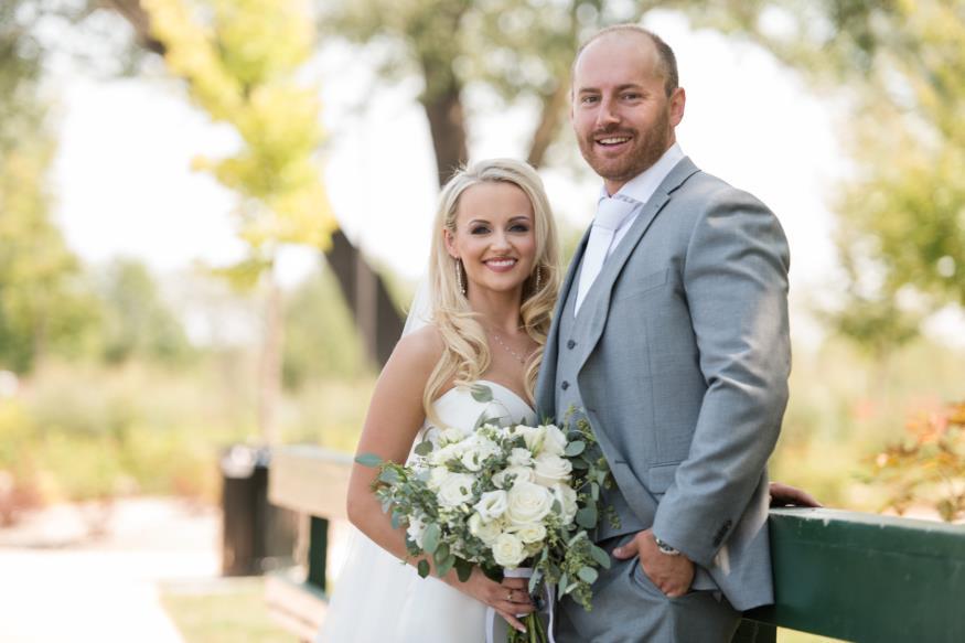 Jessica and Derek Oster Wedding Photo