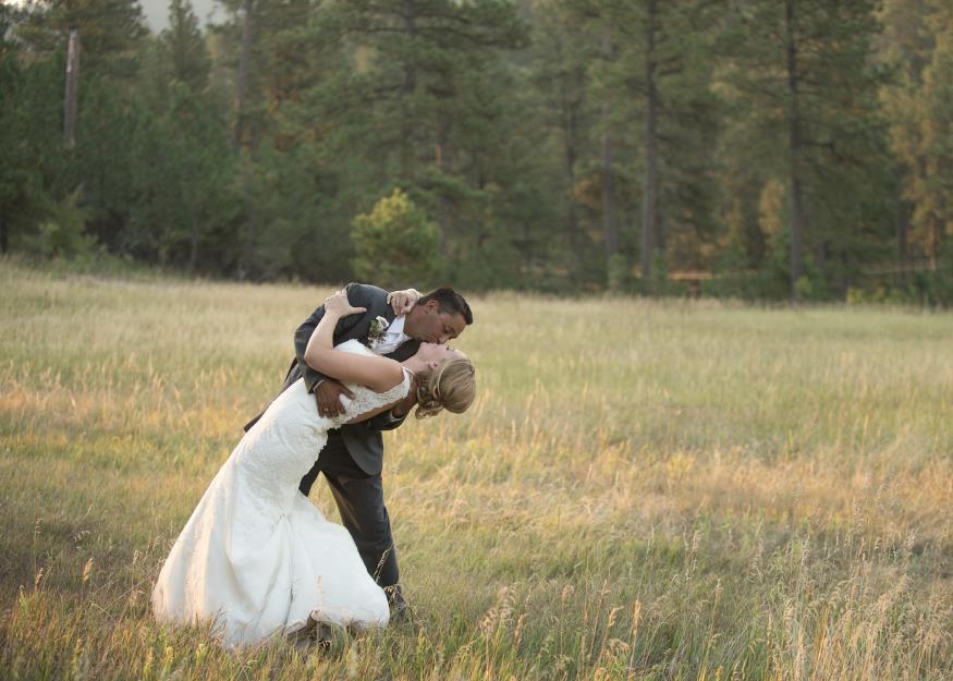 Hillary and Kaden Knapp Wedding Photo