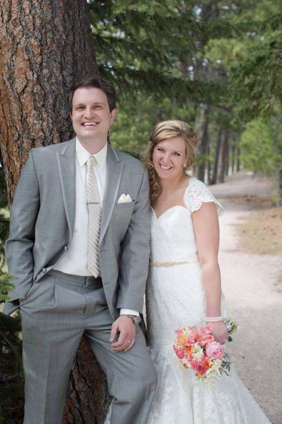 Brittany and Alex Helmbrecht Wedding Photo
