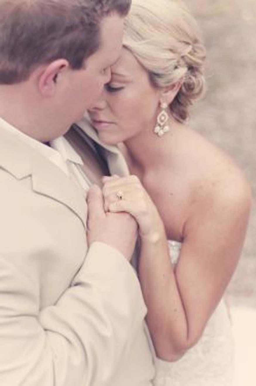 Amber and Josh Johnson Wedding Photo