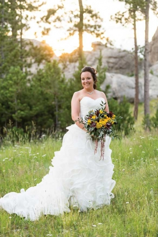 Tonia and Heath Miller Wedding Photo