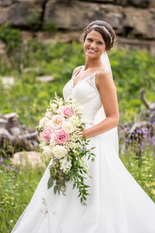 Megan and Zakary Prpich Wedding Photo