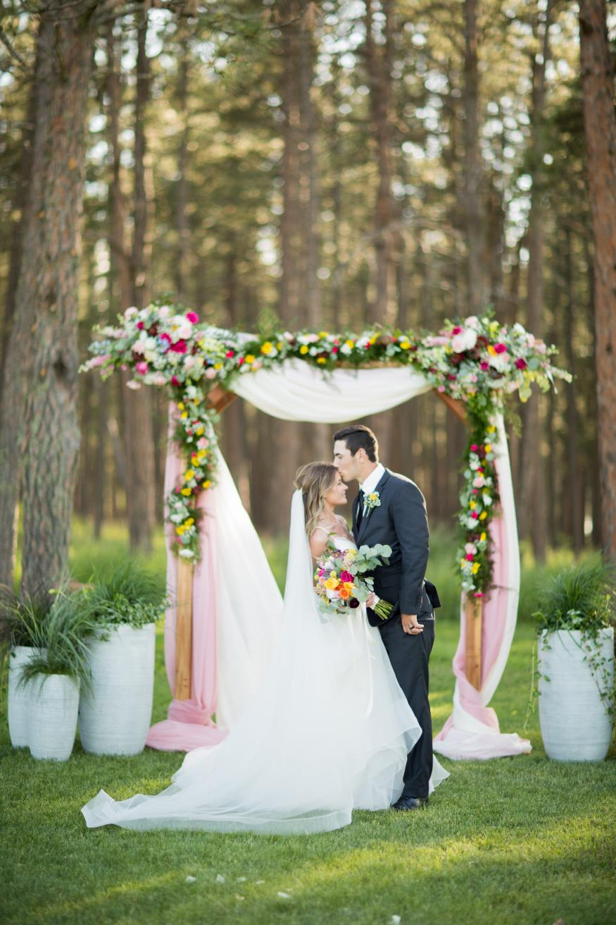 Virginia and Alex Lewis Wedding Photo
