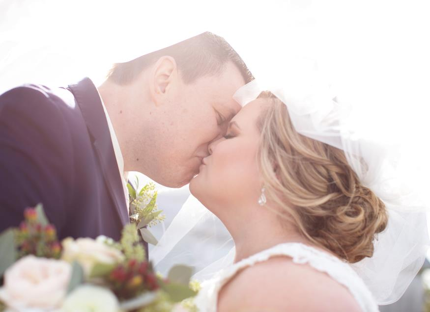 Alyssa and Greg Bunkowske Wedding Photo