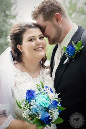 Abby and Damon LaCroix Wedding Photo