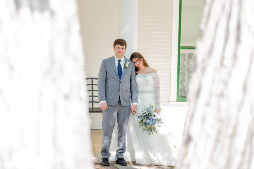 Brittany and Kade Anderson Wedding Photo