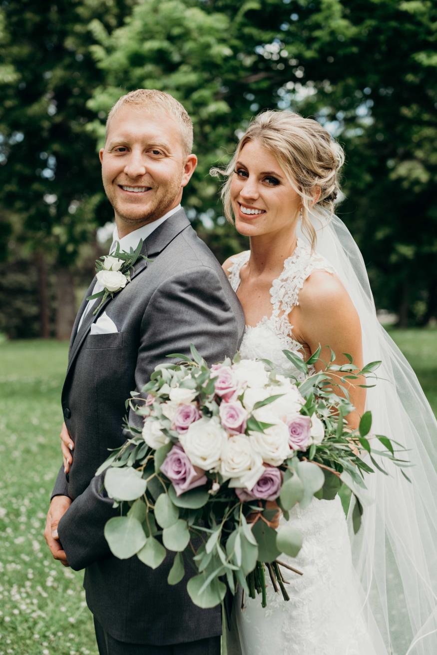 Kattie and Aaron Bland Wedding Photo