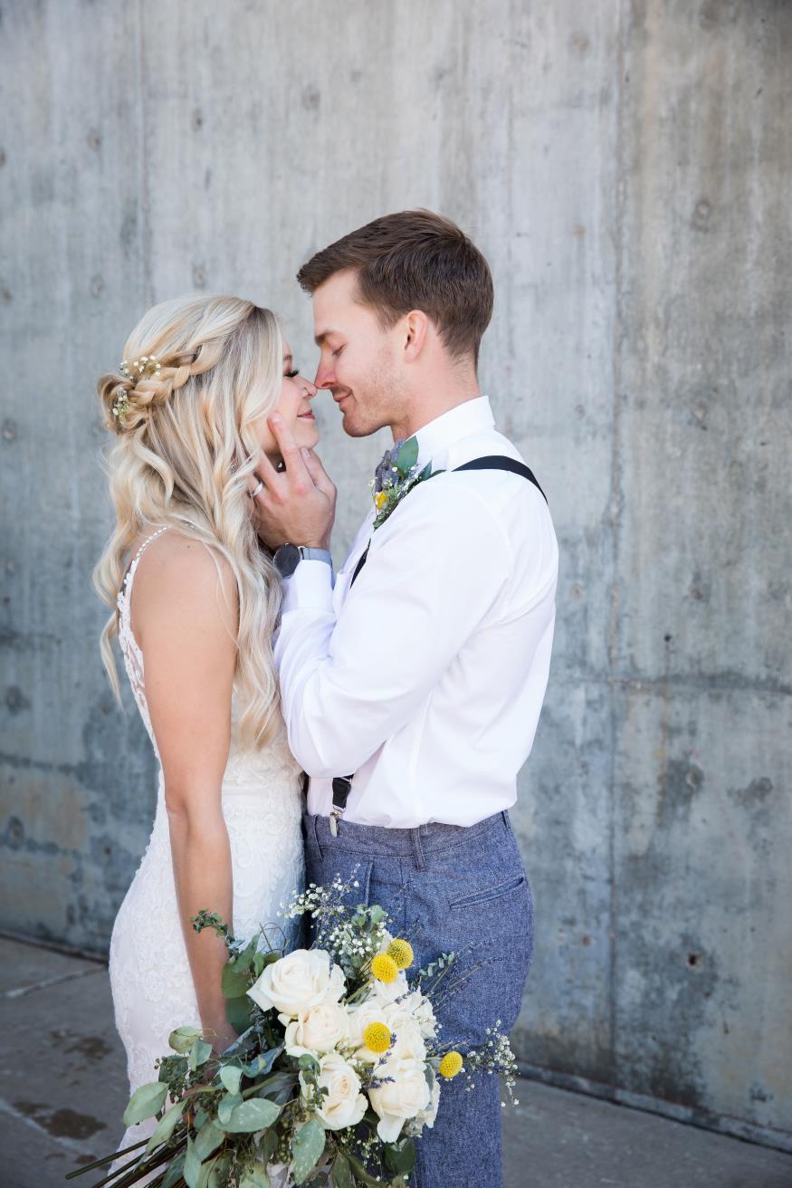 Karlie and Justin Warne Wedding Photo