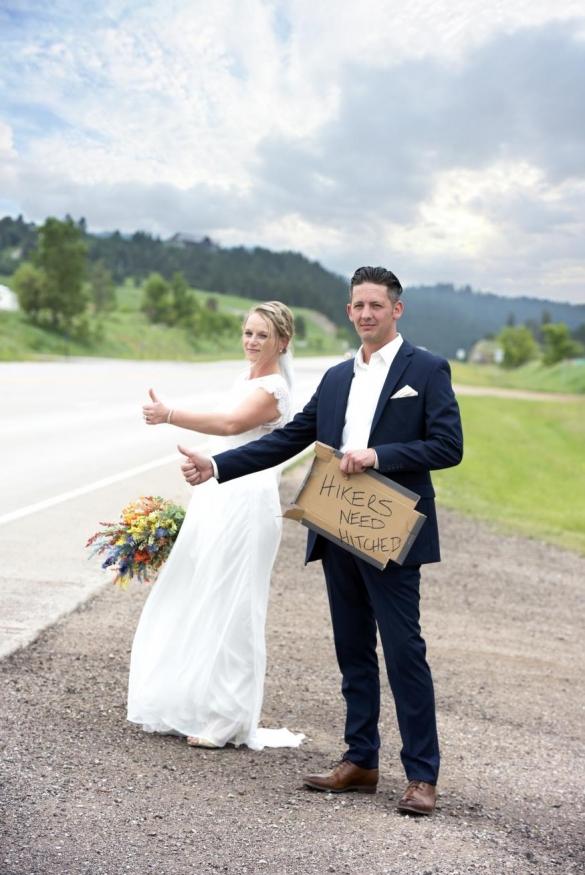 Gretchen and Matthew Emrich Wedding Photo