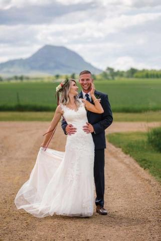 Billie and Bryan Becker Wedding Photo