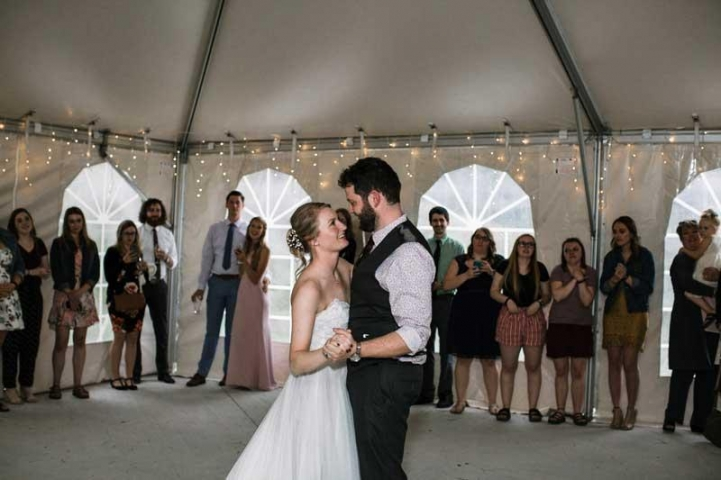 Kaitlyn and Carter Blend Wedding Photo