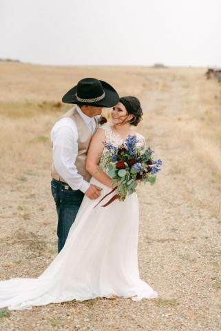 Justine and Bryn McKay Wedding Photo