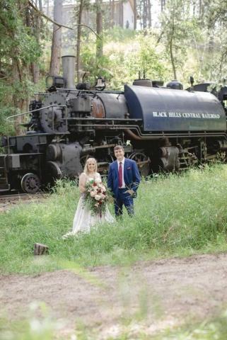 Victoria and Andrew Printz Wedding Photo