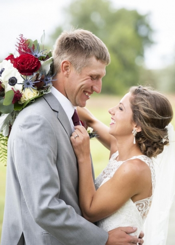Kelsey and Till Olson Wedding Photo