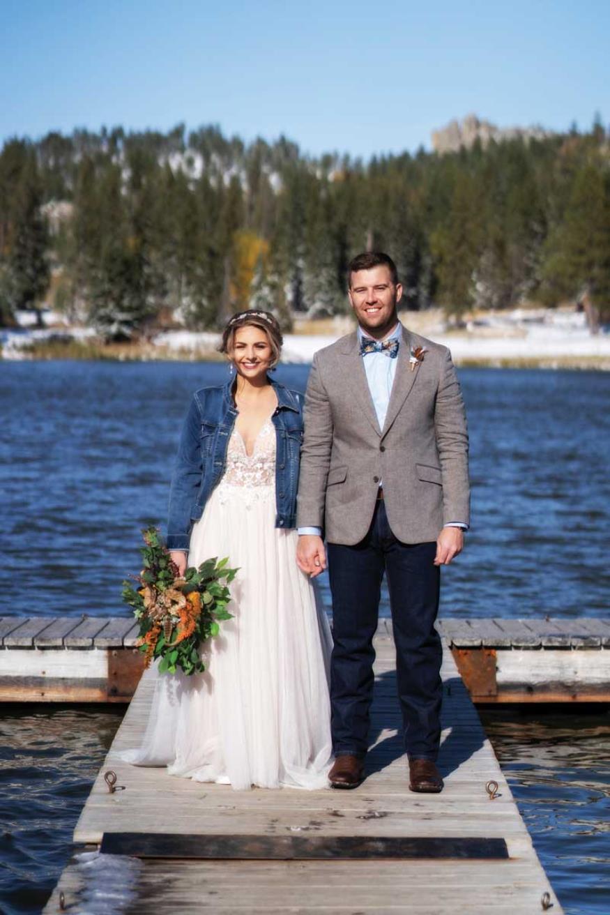 Vanessa and Sage Rinker Wedding Photo