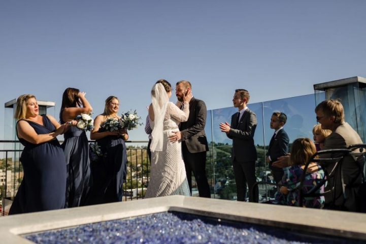 Eliza and Jose Velez Wedding Photo