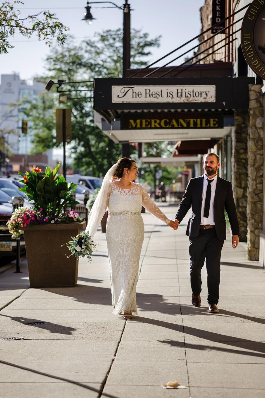 Eliza and Jose Velez Wedding Photo