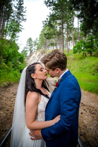 Alli and Garret Trupe Wedding Photo