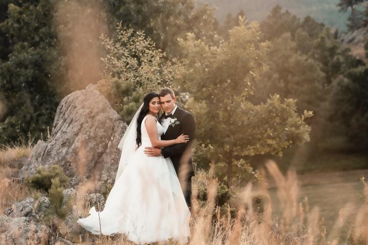Claudia and Garrett Hougland Wedding Photo