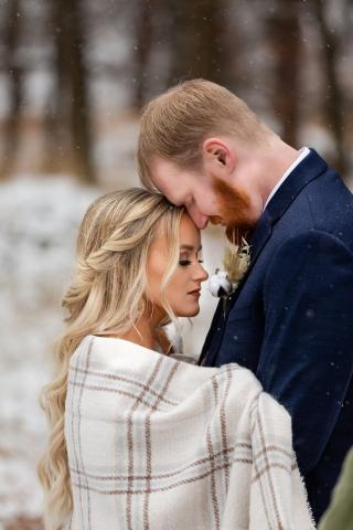 Jamie and Riley Thompson Wedding Photo