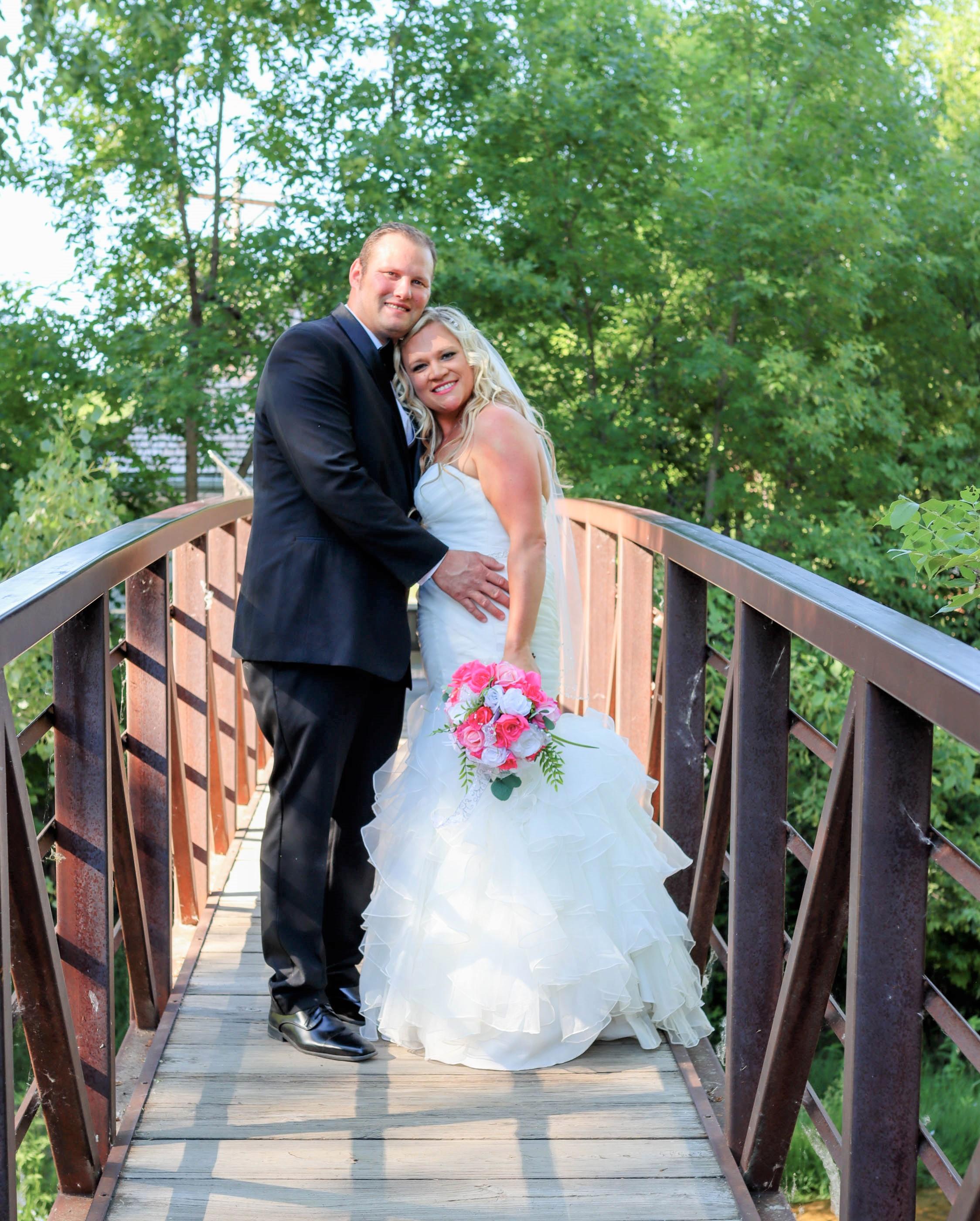 JENNIFER and MATTHEW MAUER Wedding Photo